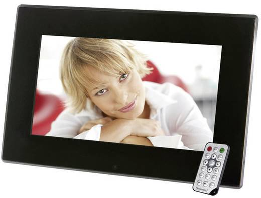Digitaler Bilderrahmen 35.6 cm 14 Zoll Intenso Media Stylist 1366 x 768 Pixel Schwarz