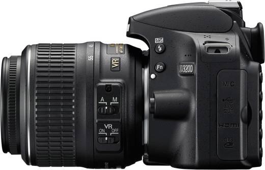 Nikon Nikon D3200 Kit + 18 - 55 VR II mm Objektiv SW