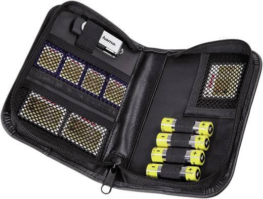 Hama 00047153 Speicherkarten-Organizer CF-Karte, microSD-Karte, miniSD-Karte, MMC Mobile-Karte, SD-Karte, USB-Stick, XQD