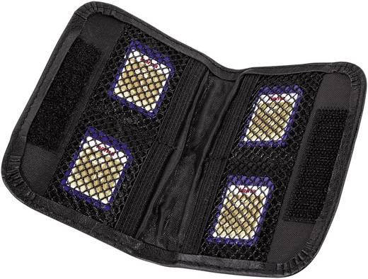 Hama 47152 Speicherkarten-Tasche CF-Karte, microSD-Karte, miniSD-Karte, MMC Mobile-Karte, SD-Karte, xD-Karte, XQD-Karte
