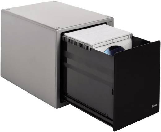 Hama CD Box 80 CDs/DVDs/Blu-rays Kunststoff Silber, Schwarz 1 St. (B x H x T) 183 x 179 x 227 mm 48318