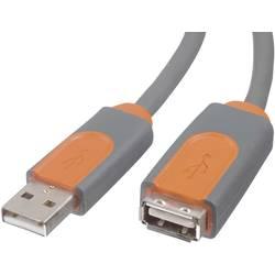 USB 2.0 predlžovací kábel Belkin CU1100cp4.8M, 4.80 m, sivá