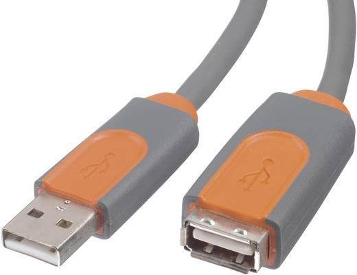 USB 2.0 Verlängerungskabel [1x USB 2.0 Stecker A - 1x USB 2.0 Buchse A] 4.80 m Grau UL-zertifiziert Belkin