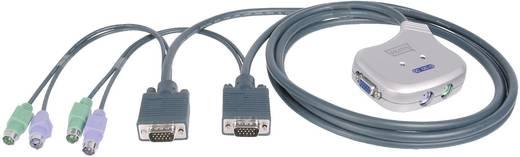 2 Port KVM-Umschalter VGA PS/2 1920 x 1440 Pixel DC-OC 12 Digitus