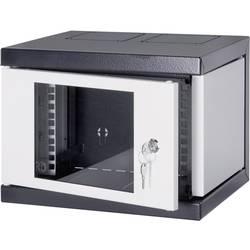 armoire baie de brassage 10 schroff 12 u 10238 153 gris noir 12 u. Black Bedroom Furniture Sets. Home Design Ideas