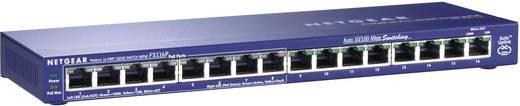 Netzwerk Switch RJ45 Netgear FS116P 16 Port 100 MBit/s PoE-Funktion