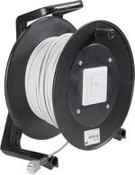 Enrouleur de câble EFB Elektronik K9200.50 CAT 5e/F/UTP 50 m [1x RJ45 femelle - 1x RJ45 femelle]