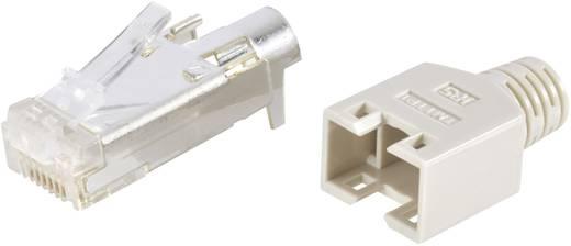 RJ45-Steckverbinder TM 11, geschirmt CAT5e Stecker, gerade Pole: 8P8C TM 11 Beige Hirose Electronic 602839 40 St.