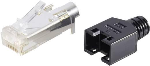 RJ45-Steckverbinder TM 11, geschirmt CAT5e Stecker, gerade Pole: 8P8C TM 11 Schwarz Hirose Electronic 602822 40 St.