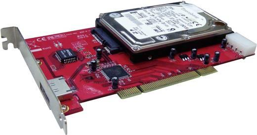 1+1 Port SATA II-Controllerkarte PCI