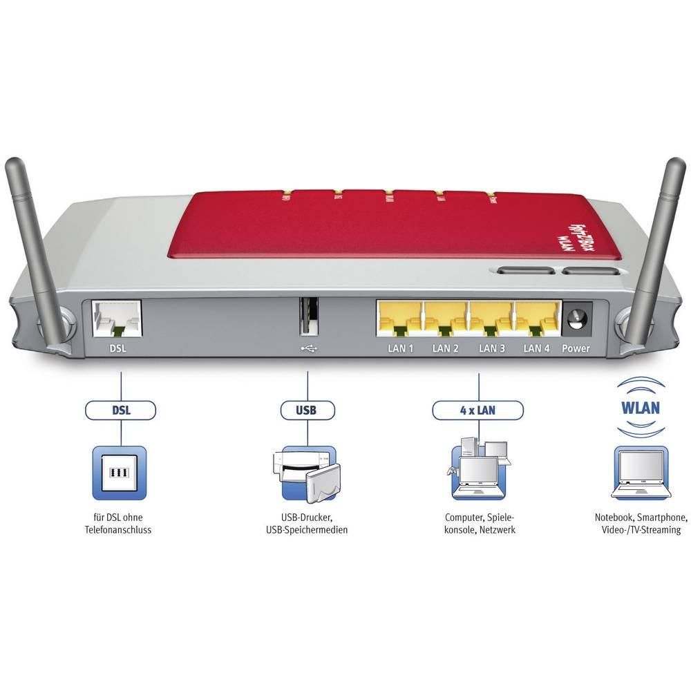 AVM FRITZ!Box 3270 Poland WLAN Router mit Modem Integriertes Modem ...