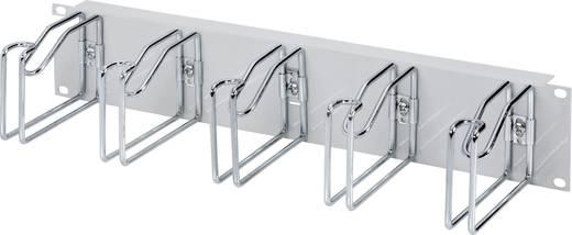 19 zoll netzwerkschrank kabelf hrung 2 he rittal grau. Black Bedroom Furniture Sets. Home Design Ideas