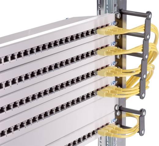 19 Zoll Netzwerkschrank-Kabelführung 1 HE Rittal 7111.214 Schwarz