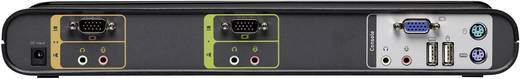 Linksys F1DS102Jea 2 Port KVM-Umschalter VGA USB, PS/2 2048 x 1536 Pixel