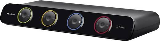 4 Port KVM-Umschalter DVI USB 2048 x 1536 Pixel KVM-Switch Linksys