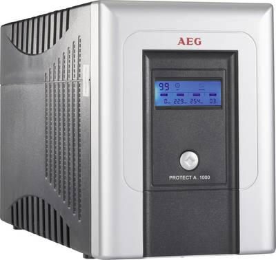 UPS 1000 VA AEG Power Solutions PROTECT A.1000