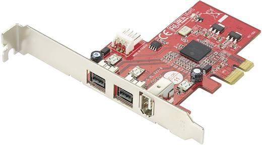 3 Port FireWire 800-Controllerkarte PCIe