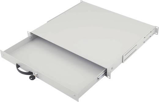 19 Zoll Netzwerkschrank-Schublade 1 HE Digitus Professional DN-19 KEY-1U Lichtgrau (RAL 7035)