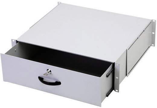 19 Zoll Netzwerkschrank-Schublade 3 HE Digitus Professional DN-19 KEY-3U Lichtgrau (RAL 7035)