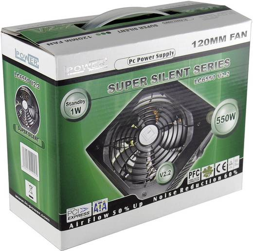 PC Netzteil LC-Power LC6550 V2.2 550 W ATX 80PLUS®