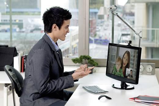Full HD-Webcam 1920 x 1080 Pixel Microsoft LifeCam Studio Standfuß, Klemm-Halterung
