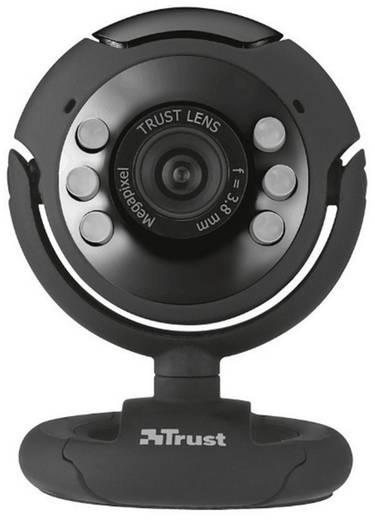 HD-Webcam 1280 x 1024 Pixel Trust Spotlight Pro Standfuß, Klemm-Halterung
