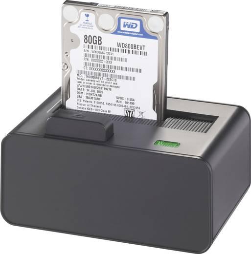USB 2.0, eSATA SATA 1 Port Festplatten-Dockingstation Renkforce rf-docking-01