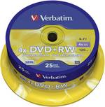 DVD+RW Verbatim 43489 25 pc(s) 4.7 Go 120 min réinscriptible
