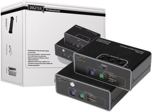 VGA, PS/2, USB 2.0 KVM-Extender (Verlängerung) über Netzwerkkabel RJ45 200 m N/A Digitus DS-51110