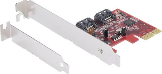 0+2 Port SATA III-Controllerkarte PCIe Renkforce