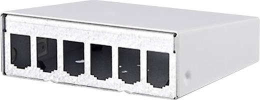 6 Port Netzwerk-Patchpanel Metz Connect 130861-0602-E Unbestückt 1 HE