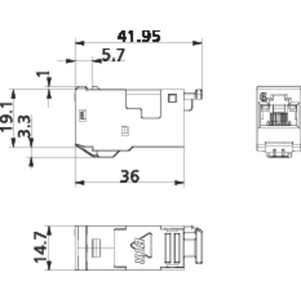 RJ45 Module E DAT CAT 6A Metz Connect 130910 I From Conradcom Image RJ45  Module E DAT CAT 6A Metz Connect 130910 I Cat6a Wire Diagram Free Download