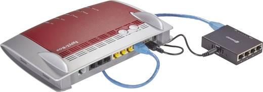 Netzwerk Switch RJ45 Renkforce mit USB-Stromversorgung 4 Port 1 GBit/s