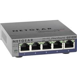 Sieťový switch NETGEAR GS105E, 5 portů, 1 Mbit/s