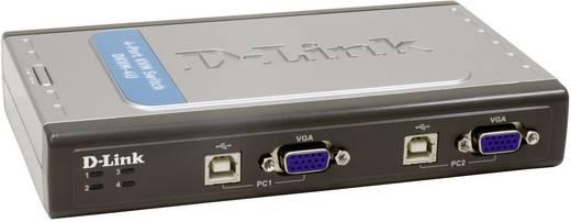 D-Link DKVM-4U 4 Port KVM-Umschalter VGA USB 2048 x 1536 Pixel
