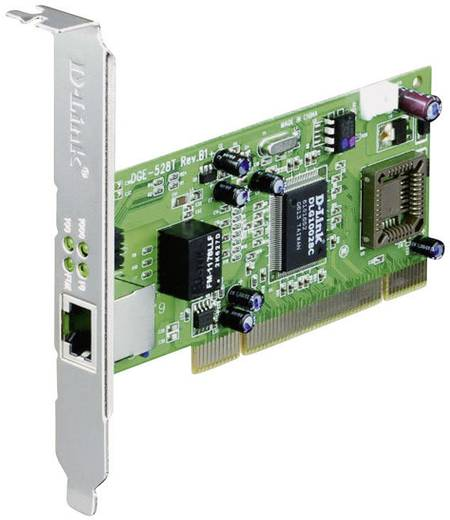 Netzwerkkarte 1 Gbit/s D-Link DGE-528T PCI, LAN (10/100/1000 MBit/s)