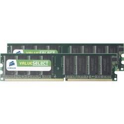 Image of Corsair VS2GBKIT400C3 PC-Arbeitsspeicher Kit ValueSelect 2 GB 2 x 1 GB DDR-RAM 400 MHz CL3 3-3-8