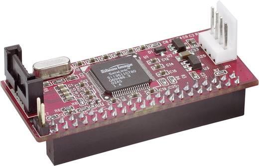 Schnittstellen-Konverter [1x SATA-Stecker 7pol. - 1x IDE-Buchse 40pol.]