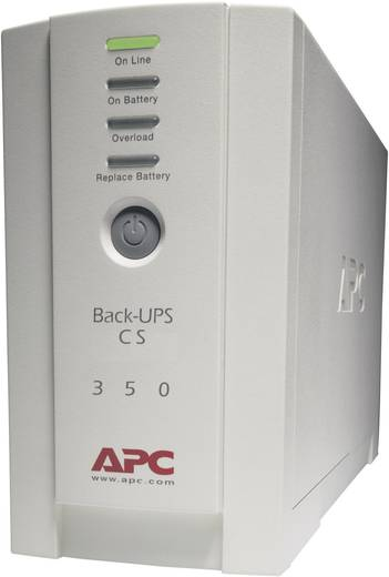 USV 350 VA APC by Schneider Electric Back UPS BK350-EI