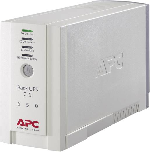 USV 650 VA APC by Schneider Electric Back UPS BK650EI