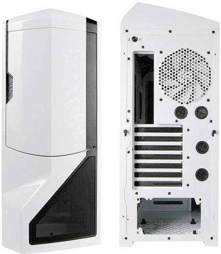 Tower PC-Gehäuse NZXT Phantom Weiß