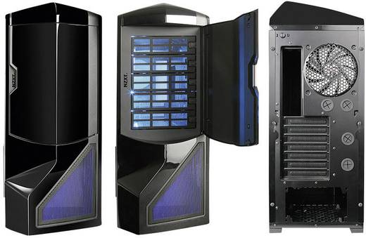 nzxt phantom big tower pc geh use schwarz kaufen. Black Bedroom Furniture Sets. Home Design Ideas