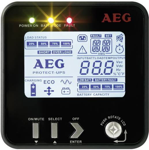 19 Zoll USV 2300 VA AEG Power Solutions Protect B.2300 PRO