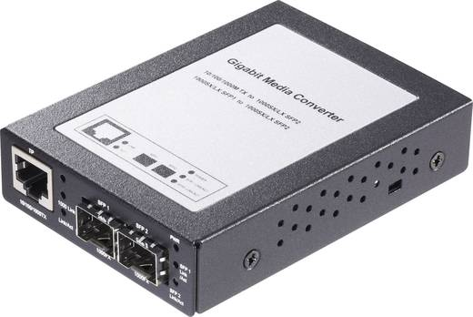 Gigabit Ethernet 2 Port SFP Medienkonverter
