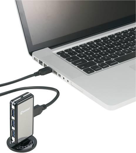 4 Port USB 3.0 Hub stehend mit Netzteil