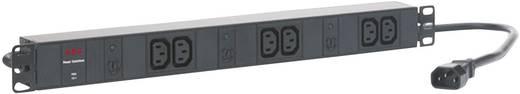 19 Zoll Netzwerkschrank-Steckdosenleiste 1 HE Kaltgeräte-Steckdose C13 10A AEG Power Solutions PDU 10-1 Schwarz