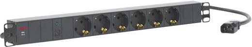 19 Zoll Netzwerkschrank-Steckdosenleiste 1 HE Schutzkontaktsteckdose AEG Power Solutions PDU 10-2 Schwarz
