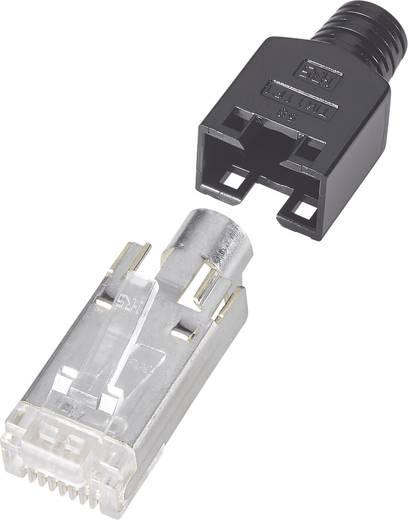 RJ45-Steckverbinder, geschirmt CAT5 Stecker, gerade Pole: 8P8C Schwarz Hirose Electronic TM 11 1 St.