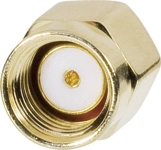 WLAN-Antennen Anschlusskabel [1x SMA-Stecker - 1x RP-SMA-Buchse] 0.15 m Transparent vergoldete Steckkontakte Goobay