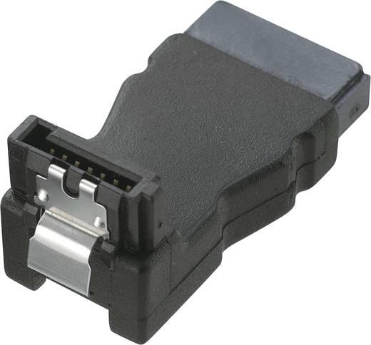 Festplatten Adapter [1x SATA-Stecker 7pol. - 1x SATA-Buchse 7pol.] 0 m Schwarz